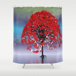 strange light somewhere -17- Shower Curtain