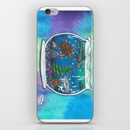 A Bowl Of The Ocean iPhone Skin