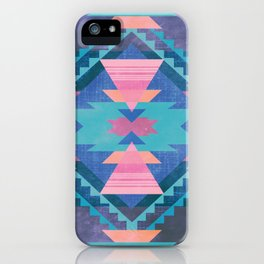 Native Blue iPhone Case