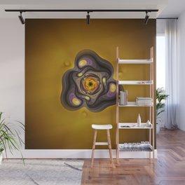 Amber Prism; aka, Primordial Soup Fractal Emulsion Wall Mural