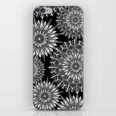 Mandala Negative iPhone & iPod Skin