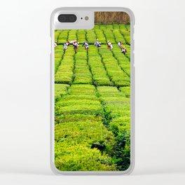 Porto Formoso tea gardens Clear iPhone Case