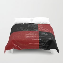 The Cat : Charles Baudelaire Duvet Cover