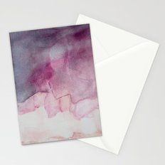 do the skies crumble Stationery Cards