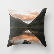 Time Is Precious - Landscape Photography Throw Pillow