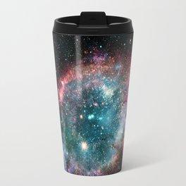 Galaxy and nebula Travel Mug