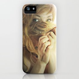 A Mine Of Gold Lies Within You iPhone Case