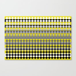 Lines and Squares Canvas Print