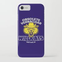 tenenbaums iPhone & iPod Cases featuring Obsolete Vernacular Wildcats (Royal Tenenbaums) by Tabner's