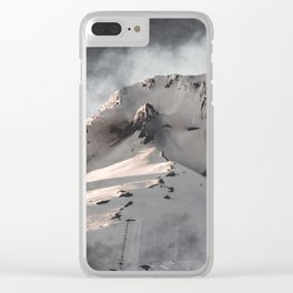 Mountain Moment III Clear iPhone Case