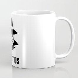 We are anonymous Coffee Mug