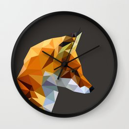 LP Fox Wall Clock