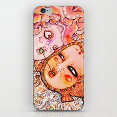 Octopus Love iPhone Skin
