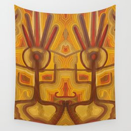 Together in God's Eye Wall Tapestry