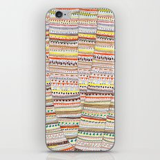 Cone pattern iPhone & iPod Skin