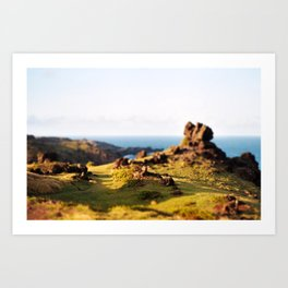 A Place To Hide From The World Art Print