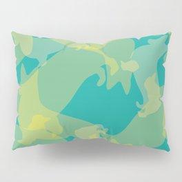 Blue & Yellow Corgi Pattern Pillow Sham
