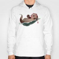 otters Hoodies featuring South by Jordan Lewerissa