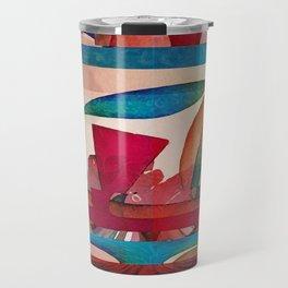Abstract 7A Travel Mug