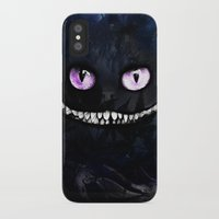 cheshire iPhone & iPod Cases featuring CHESHIRE by Julien Kaltnecker