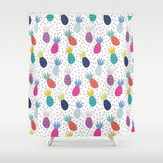 Tropical summer Shower Curtain
