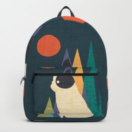Waiting for You French Bulldog Backpack