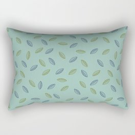 Leafy pattern Rectangular Pillow
