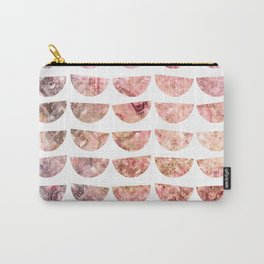 Rose Tinted Halfmoons Carry-All Pouch