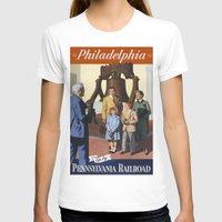 philadelphia T-shirts featuring PHILADELPHIA/vintage by Kathead Tarot/David Rivera