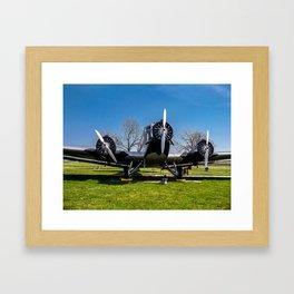 JU - 52 in Munich Framed Art Print