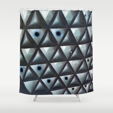 Triangle Gallery Shower Curtain