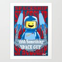 1980 something space guy by danielsanchez