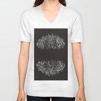 ufo V-neck T-shirts featuring ufo by Miamaria Oedegaard