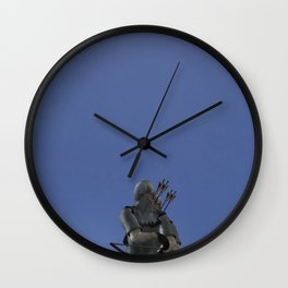 War Stars: Imperial Troops or Just Archers Wall Clock