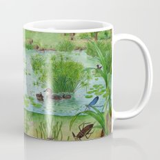 A Day of Forest (4). (the lake ecosystem) Mug