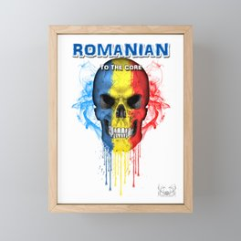 To The Core Collection: Romania Framed Mini Art Print