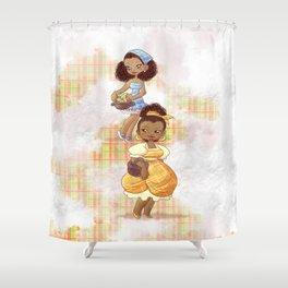 Caribbean Girls Shower Curtain