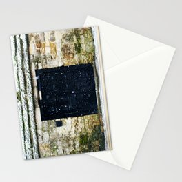 Snowy English Doorway Stationery Cards