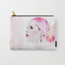 Rayon | Jared Leto in Dallas Buyers Club | Watercolor Portrait Carry-All Pouch