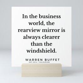 23    Warren Buffett Quotes   190823 Mini Art Print