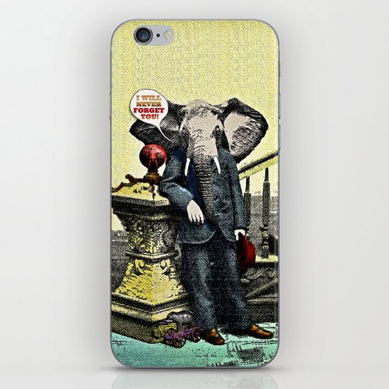I Will Never Forget You! iPhone & iPod Skin