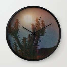 High Desert Moon II Wall Clock