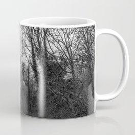Monochromatic forest path Coffee Mug