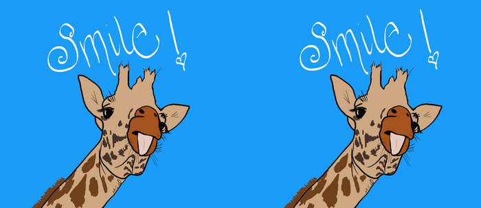 Happy Giraffe Coffee Mug