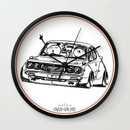 Crazy Car Art 0006 Wall Clock