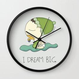 I Dream Big Wall Clock