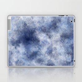 Navy Watercolor Fog Laptop & iPad Skin