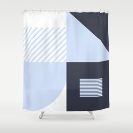 Combo Shapes Shower Curtain