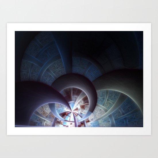 Industrial I Art Print