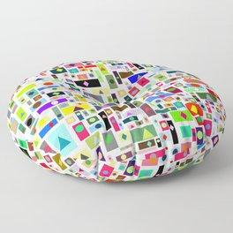 pattern art Floor Pillow